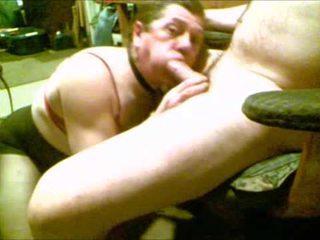 Rebecca Love Lee sucks & rides his cock.