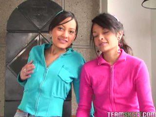Tami fabiana এবং diana delgado মধ্যে ভয়ঙ্কর ফোরসাম