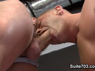 Muscle Fellow Fucked. Starring Brad Star And Cliff Jensen