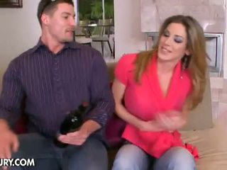 Cheating Whore Wives: Hot MILF Kayla Paige drilled by a younger cock
