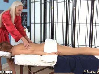 Erotiska electric lesbisk massagen