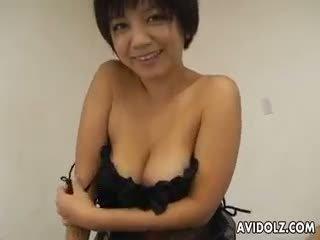 real japanese, big boobs, blowjob fresh
