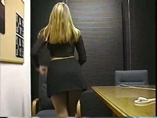 solo, office, blonde