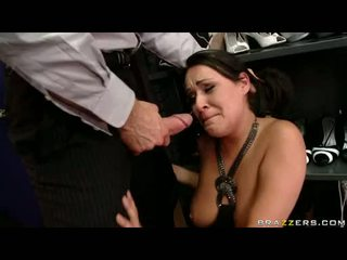 Nice Looking Charley Chase Receives Her Face Hole Filled With A Huge Cock Like A Sausage