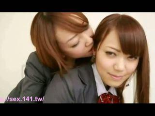 japanese, blowjob, lesbian