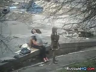 hottest voyeur, more russian hot, outdoor