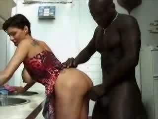 Bbw france kotiäiti haviing seksi kanssa afrikkalainen kukko video-
