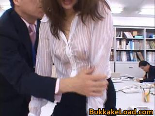 Aya Matsuki Sexy Asian Doll Enfuns A Hawt Cum