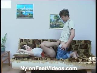 Rachel ir jerry outstanding nailonas pėdos veikla