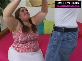 Talented gras bbw superstar swallows parte 1