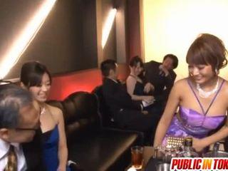 Everyone Watches As Kirara Asuka Has Made Love