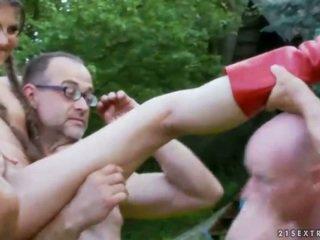 Extreme pissing and blowbang