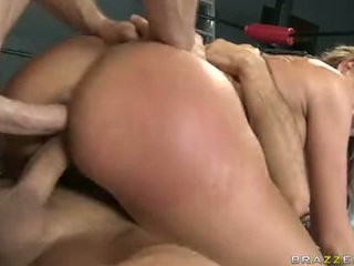 Two Up The Ass And The GAsh, Nikki Sexxx Loves To Feel A Pair Of Pulsing Pricks