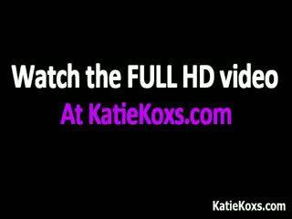 Katie kox עם שלה גדול פטמות gets מזוין part6