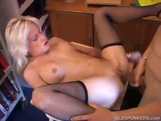Sexy Blonde Girls In Stockings