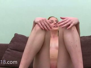 Blondie Sexing With Agent On Ottoman