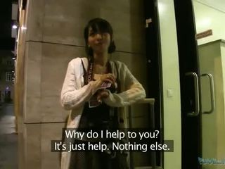 Asian beauty Marcia pounded for money