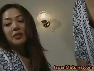 brunette, japanese, gruppe sex, store bryster