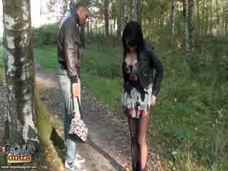 Raunchy outdoors sex video made in park