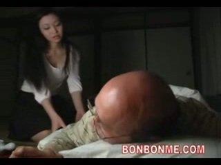 vieil homme, vieux pets, hardcore, asiatique