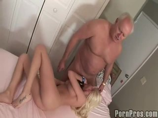 Old and youthful porno tube