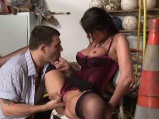 brunette, ideal blow job, quality suck full