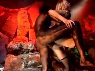 Hot group sex party in hell