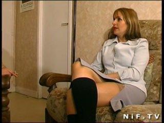 Francozinje mama gets analno zajebal