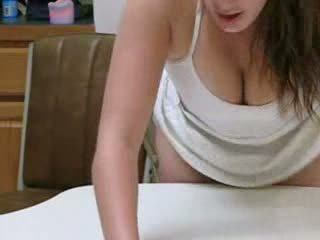Sexy Fat chick kitchen doggy Video