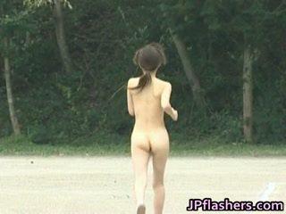 Naked Asian Runner