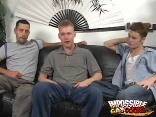 Nasty Homosexual Guys On The Couch