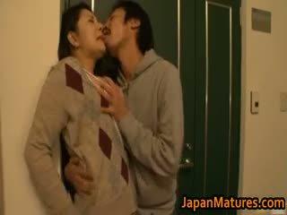 japoński, seks grupowy, wielkie cycki, dojrzały