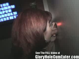 Pregnant Redhead MILF Carmen Swallows Her Man Milk For Protien