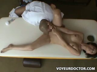 Reluctant Asian Wife seduced and fucked by her masseur