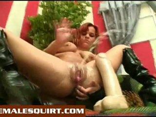 Seksowne pisklęta gorące solo squirting masturbations