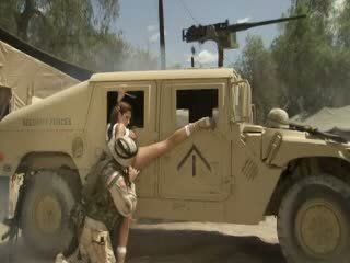 Sexy Hotty Jadra Holly Receives Her Pussy Fingered And Banged By A Soldier