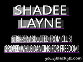 Astonishing Teen Black Girlfriend Shadee Layne