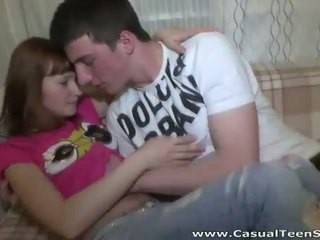 Cute redhead teen mandy blow and spread her legs