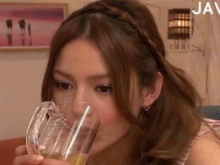 brunette, fun japanese, full cumshot more