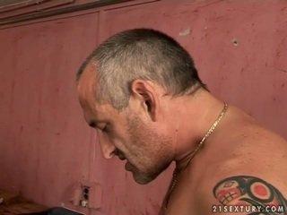 Armas teismeline blond gets perses poolt vana mees
