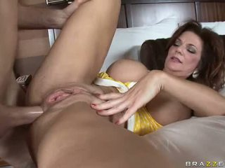 Mature creampie surprise