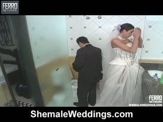 Isabelli Mindblowing Shemale Bride