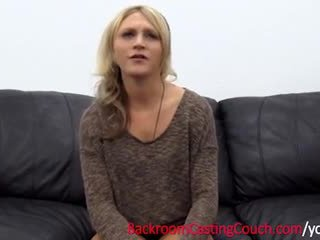 Reluctant silit creampie casting