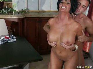 hardcore sexo, grande bichano, mais esmagou seu bichano quente