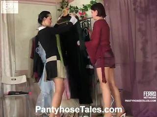 جوارب طويلة tales مشاهد مع kathleen, rosa, govard
