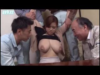JUX-104 Titty Milk Widow to Whom Middle Aged Men Will Gather