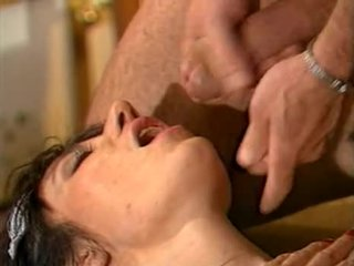 German Maid fucked in the Kitchen