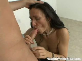 Scorching Teacher Gina Rome Slurping Some Hot Cock In Her Mouth And Can't Live Without It
