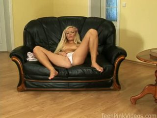Delightsome Juvenile Floozy Nicky Angel Couldn't Wait To Make Her Pussy Ooze With Pleasure