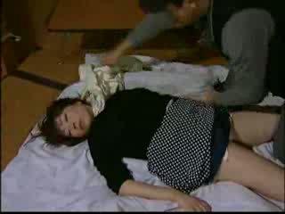 japanese, di luar, ibu rumah tangga